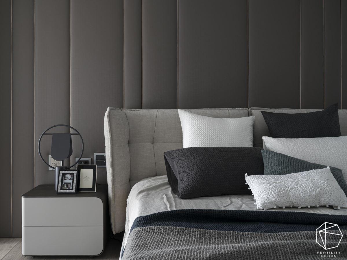 选用简约的家具、沉稳的配色,让休憩空间弥漫着成熟底蕴。