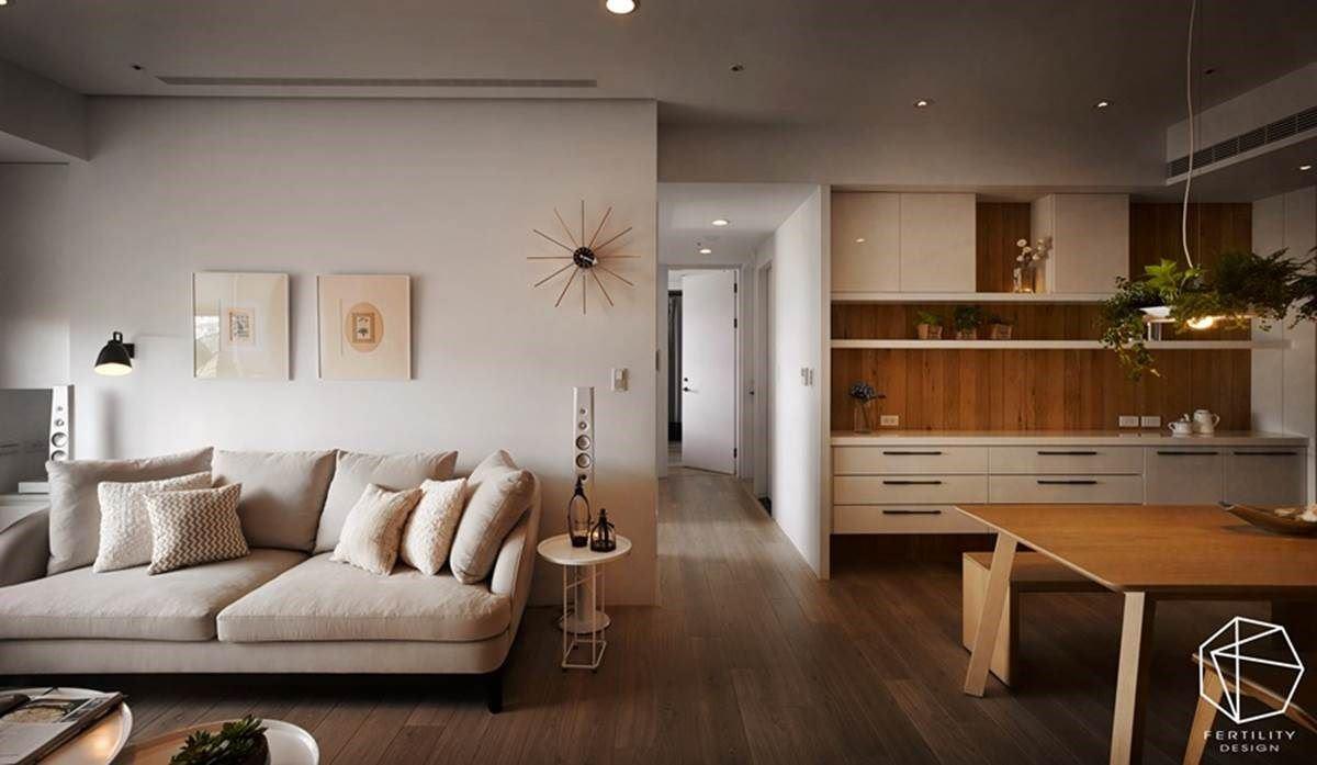 餐区与客厅采开放式规划,塑造自由的开阔视野,享有更大的生活使用范围。