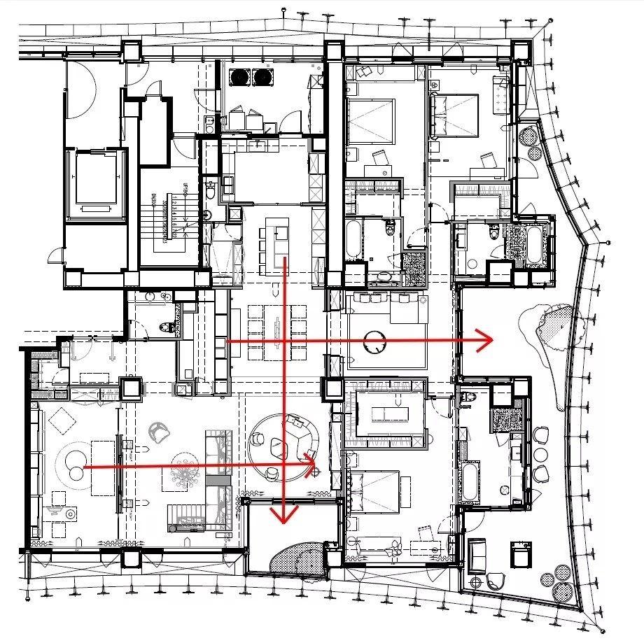 平面图提供_大雄室内设计。