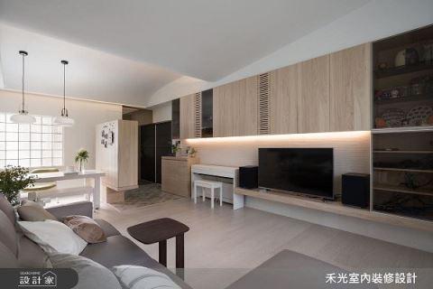 趣味外型结合收纳  创造家人共享空间 禾光室内装修设计公司 禾光设计团队