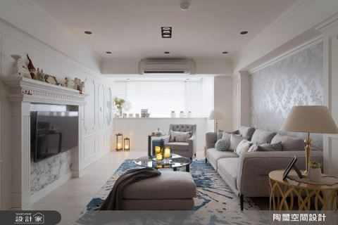 老公房蜕变  轻法式都会宅 陶玺空间设计事务所 林欣璇