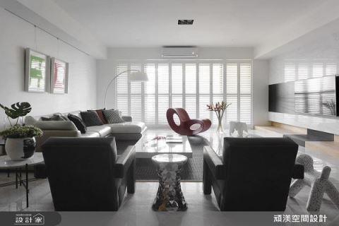 让一家三代惊呼连连  现代家居尺度再延伸 顽渼空间设计公司 洪淑娜