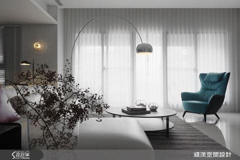 用光与影交织的时尚现代宅 顽渼空间设计 洪淑娜
