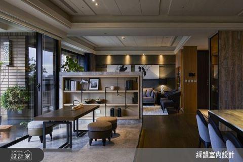都会里的宽阔豪宅 引入现代人文的生活质量 彩韵室内设计 吴金凤、范志圣