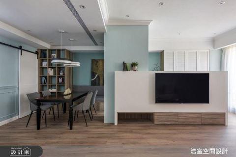 一起徜徉云海蓝天的清爽北欧家居! 浩室空间设计 邱炫达