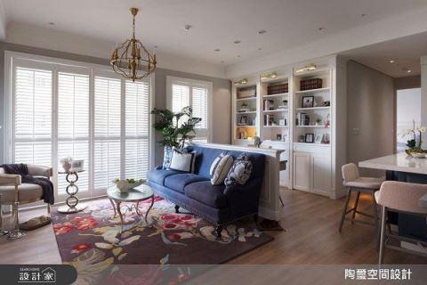 美式风小户型家居,打造夫妻甜蜜生活 陶玺空间设计事务所 林欣璇