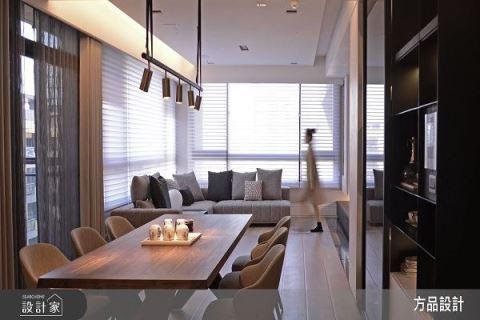 重整180平米现代豪宅 高端生活随处可见 方品室内装修设计工程有限公司 张纭佩