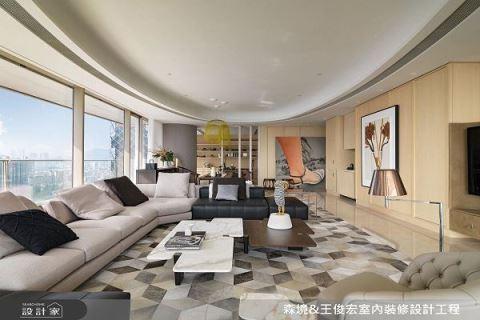 东方风华气韵再现,优雅新中式精品豪宅 森境+王俊宏设计 王俊宏