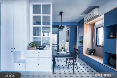 老屋扩容改造三居室北欧风 晟角制作设计 林昌毅