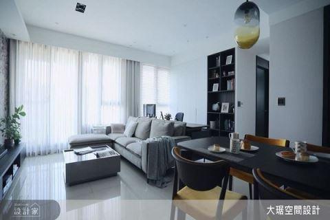 灰镜和低彩度构成高级感的现代风家居 大琚设计 许意竹