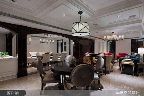纽约曼哈顿风格的时尚住宅设计 尚展空间设计 吴启民
