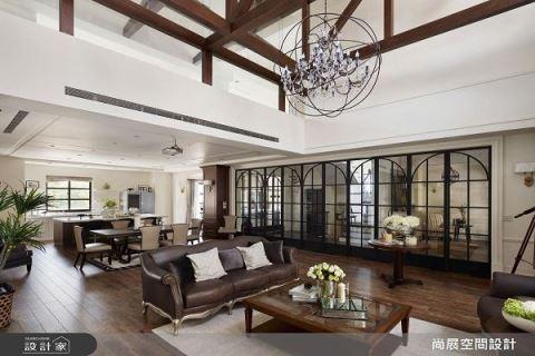 有范的现代美式别墅设计 尚展空间设计 吴启民