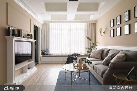 疗愈美式乡村风,客厅竟比ins家居网红更美 原晨室内设计 杨崇毅、刘鞠臻