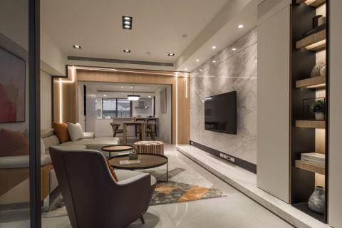 改了神桌和餐厅的位置,新家变明亮了 品桢空间设计 陈膺信
