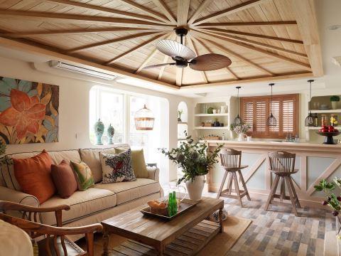 180 m²的家被他们爆改成欧洲古堡 摩登雅舍室内设计 汪忠锭、王思文