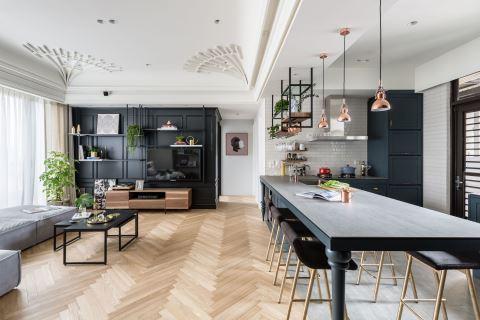 留澳建筑师用一座中岛餐桌 为小夫妻复刻国外生活 尔声空间设计 陈荣声、林欣璇