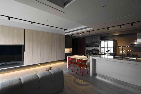 北欧风的饭店式设计,其实是这样的 禾光室内装修设计有限公司 郑桦