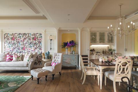 他们把莫内花园搬进这165㎡的三口之家 摩登雅舍室内设计 汪忠锭、王思文
