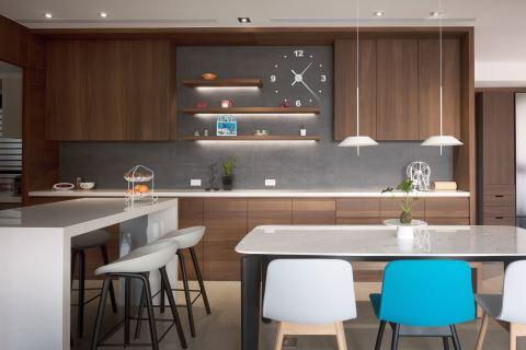 疗癒色彩打造独特现代风格宅邸 丰聚室内设计 黄翊峯、李羽芝