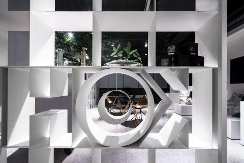 撷取美术馆概念,卫浴形象概念店美得像一本书 沈志忠联合设计 沈志忠