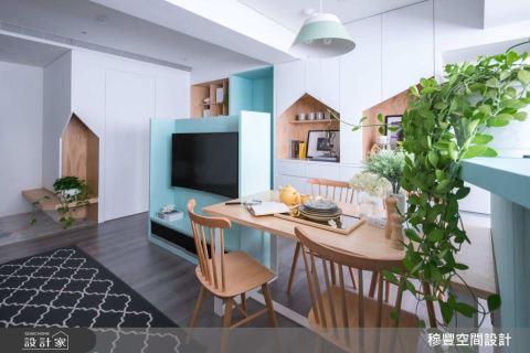 她为一家四口把73平米二手老房变身北欧风新家 穆丰空间设计有限公司 王淑桦
