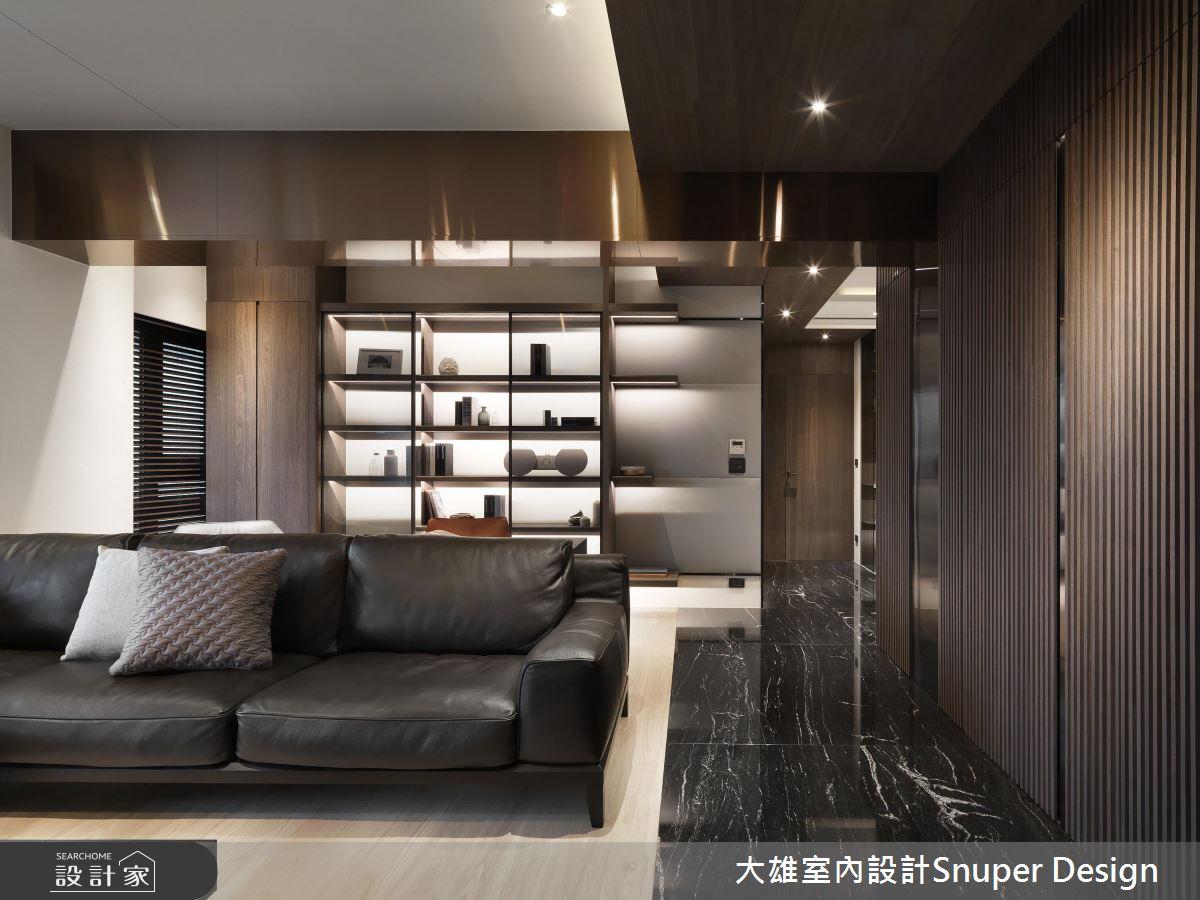 精工定制现代风尚 沉稳大器的132平米居家典範