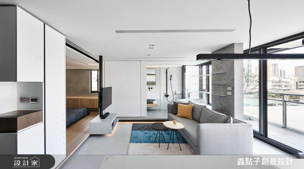 揭密专业设计师的家! 14 平方米小户型化身极美空中楼阁