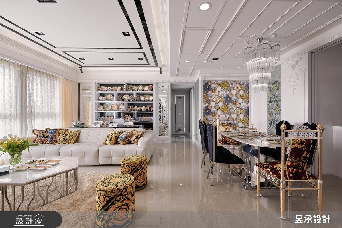 细节、材质的精緻呈现! 198平米新古典大宅的华丽进击!