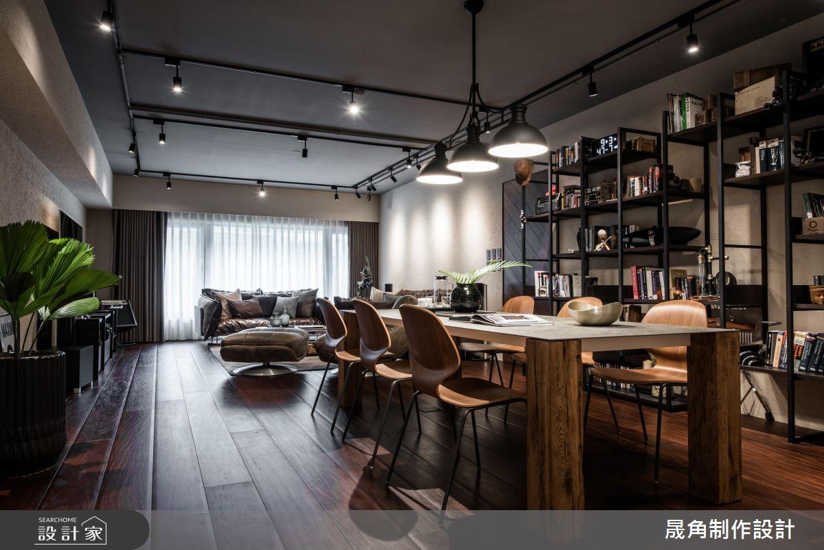 唤起你的音乐魂!机能、美感兼具的198平米现代风舒适宅
