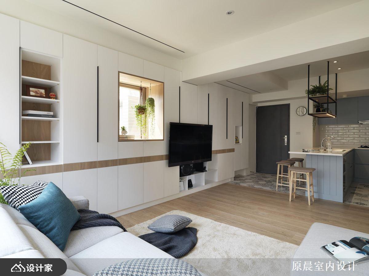 日光小窗台混搭大容量收纳!打造不输大房子的生活享受!