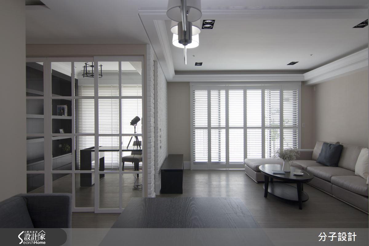 沉静黑优雅白,打造历久弥新的时尚现代宅