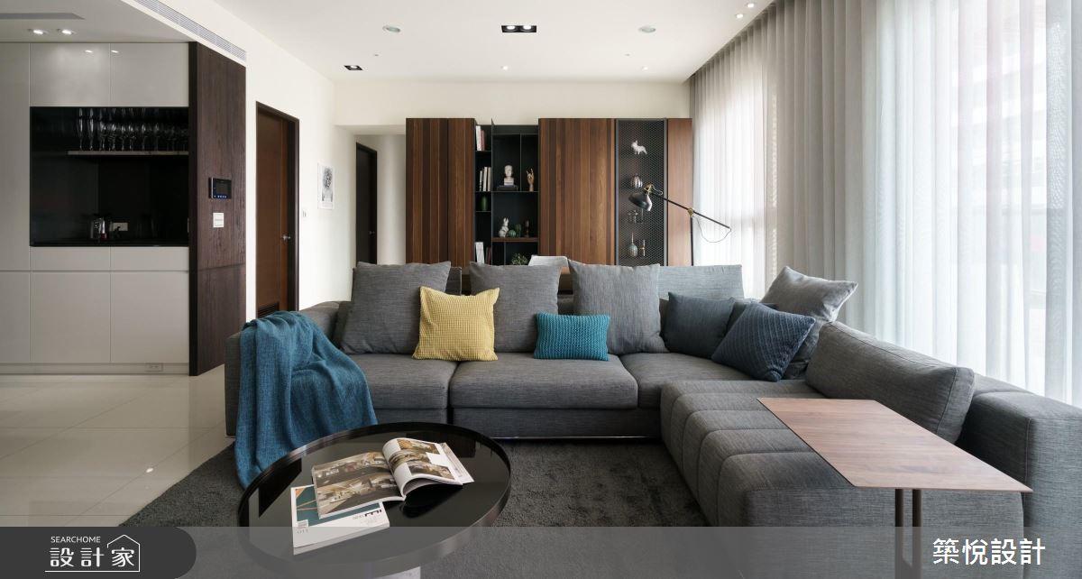 享受时尚优质生活!有品味的 125 平米现代风家居