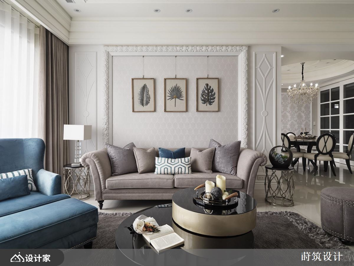 新古典大客厅的高效用!赋予六口安稳的睡眠环境
