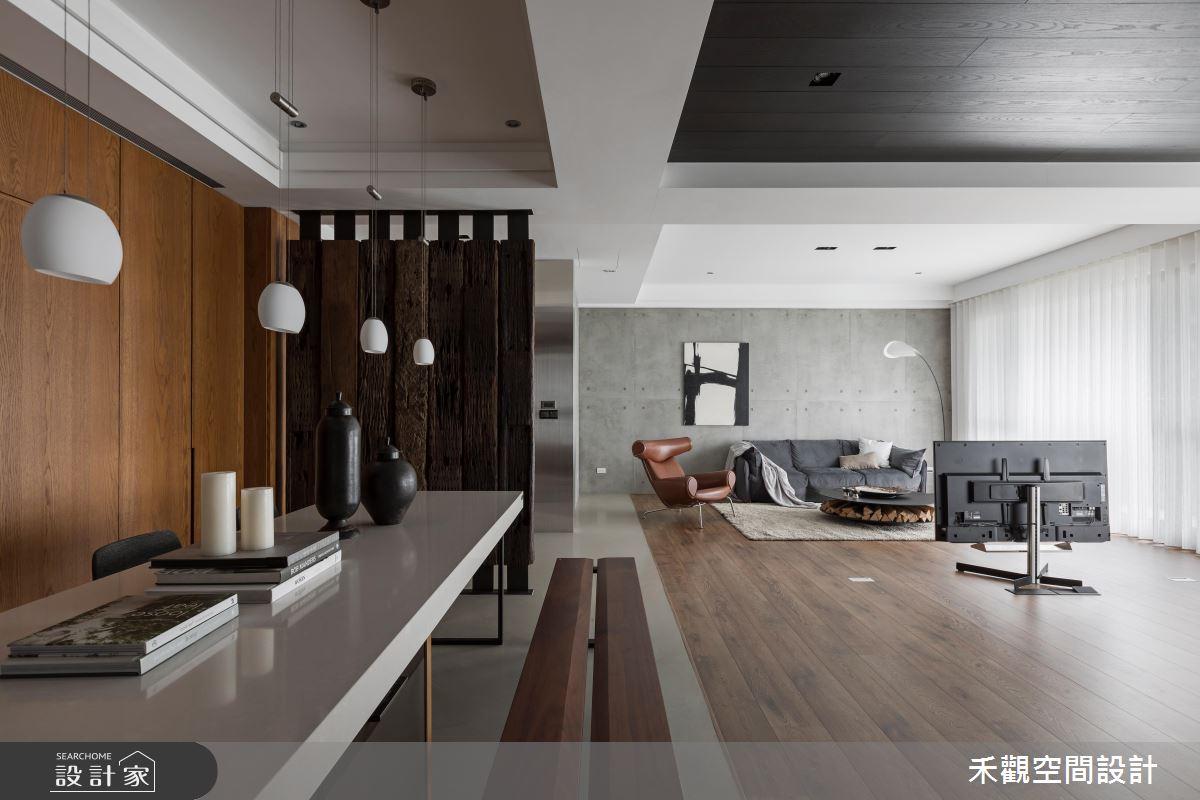 巧搭清水模及木建材,高冷工业宅添暖意