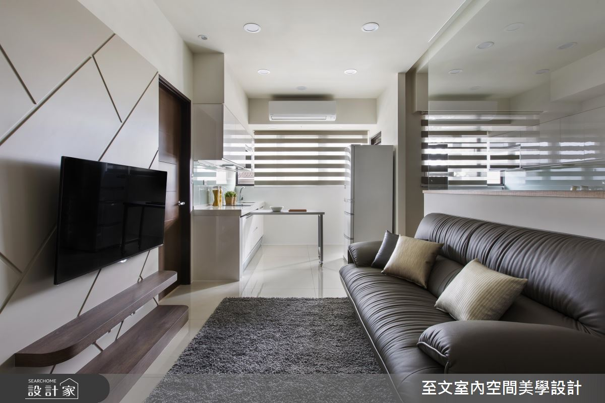 上班族首次买房计划:轻透北欧风+格局微整形 让小宅放大一倍!