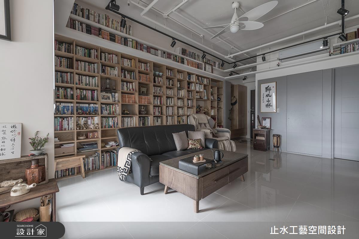 善用高度规划收纳,满足藏书癖的机能宅