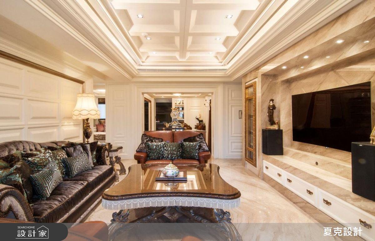 在家当贵族,走进264平新古典风大宅