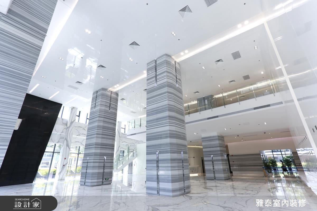 未来科技感的商办大楼,再造企业新形象