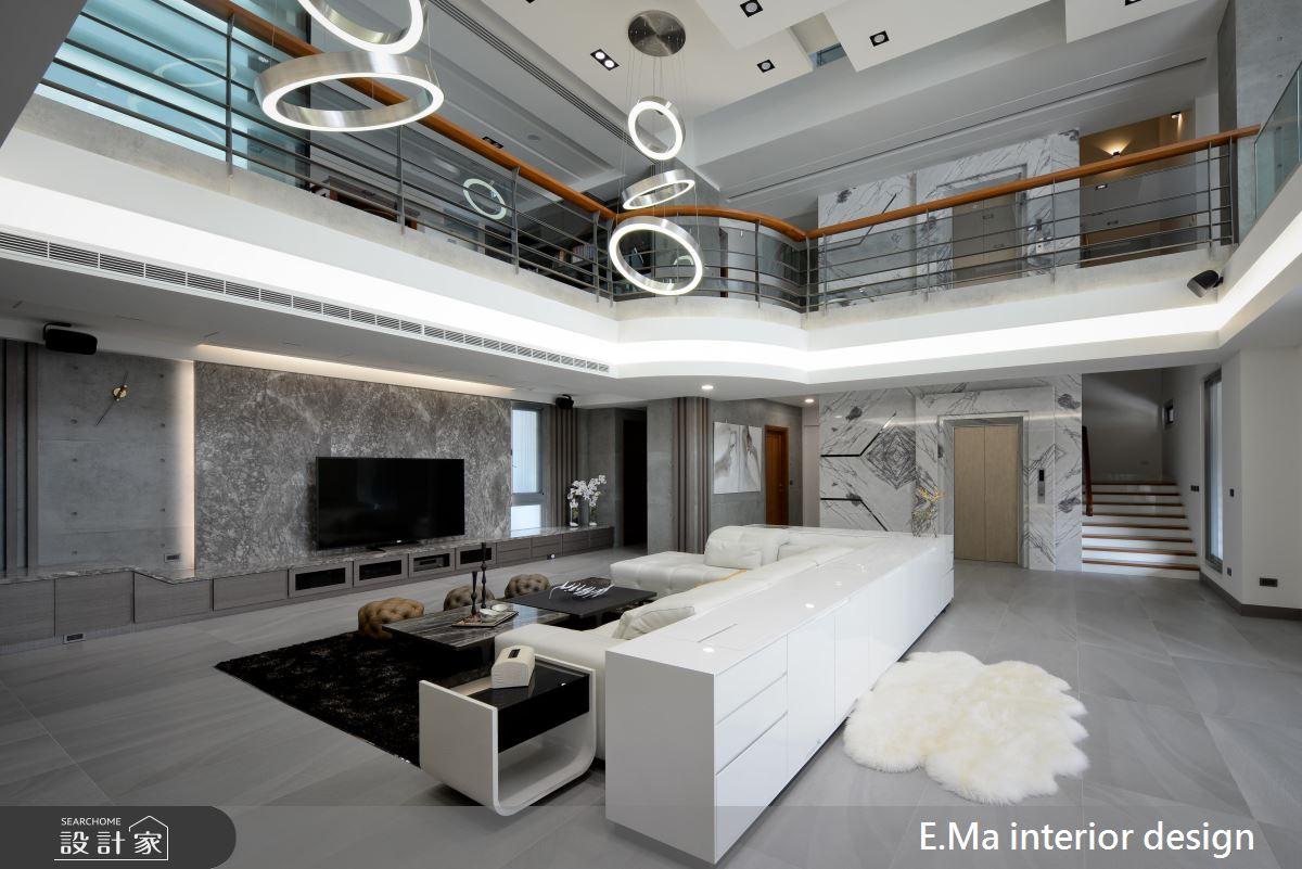 暖感、空间感、奢华感!打造三代同堂都满意的别墅豪宅