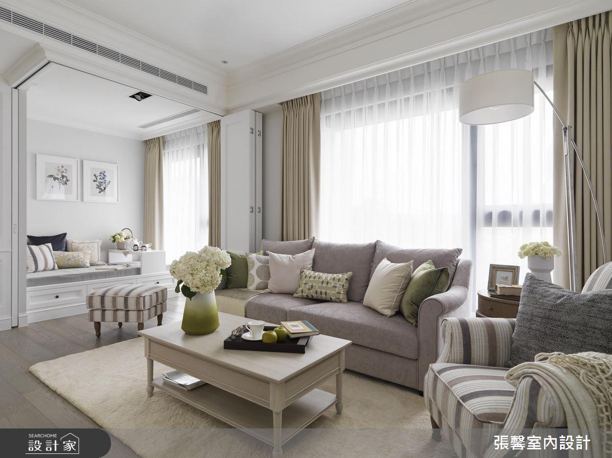 家也能拥有白净透亮!日光遇见美式风的疗癒退休宅
