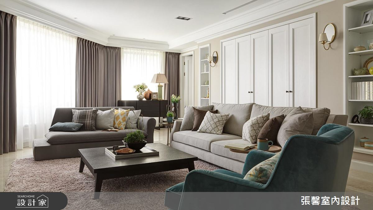 我的家是位气质古典美女!360平米美式宅邸的精緻雍容
