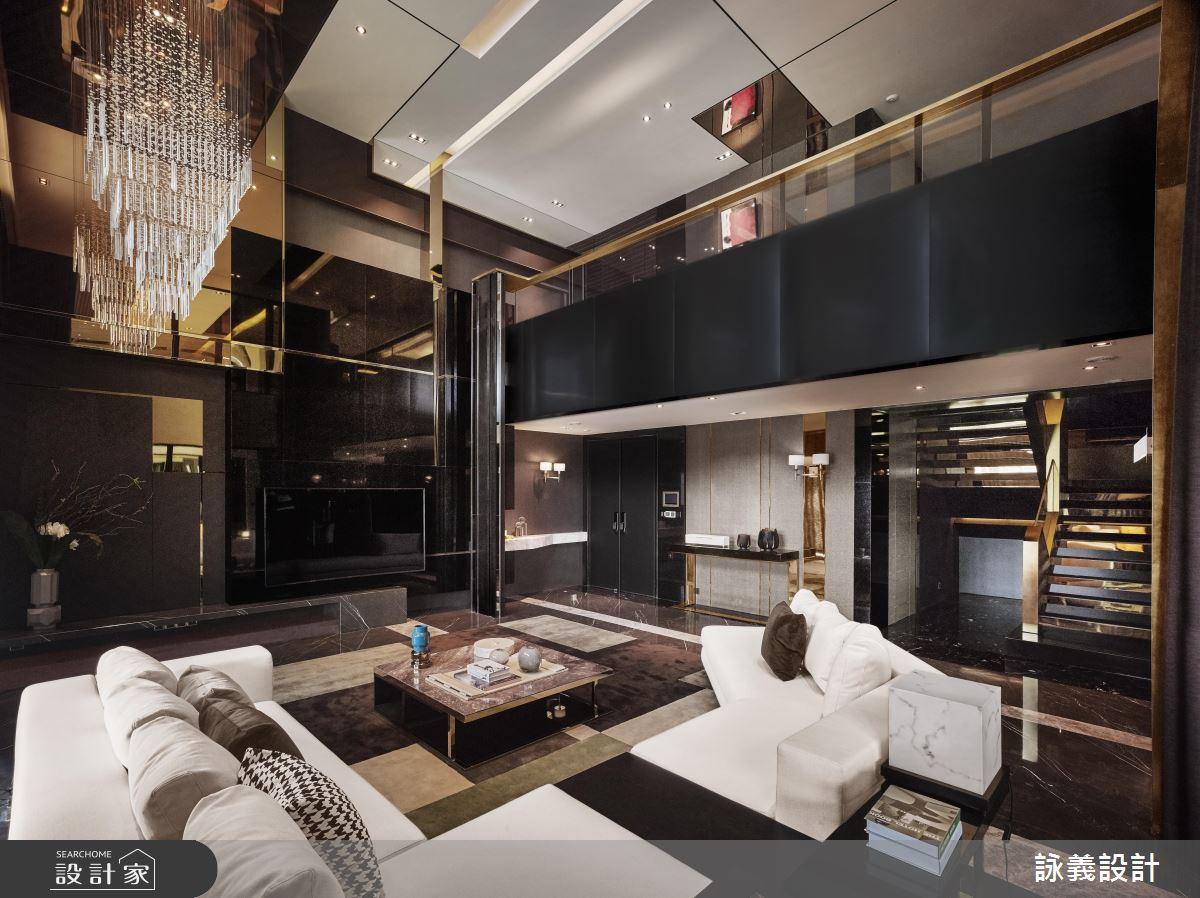 华丽与抽象艺术交织!化身精美绝伦的 548 平米现代豪宅