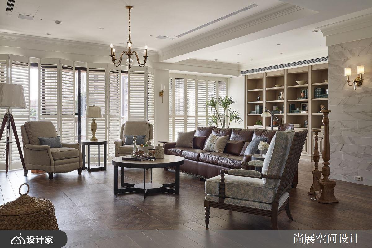 大宅重现经典美式风情!作为旅居家庭的专属舒适圈