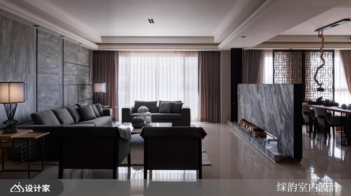 云水禅心、暖木冷石,中式古典崭新定义大宅风范