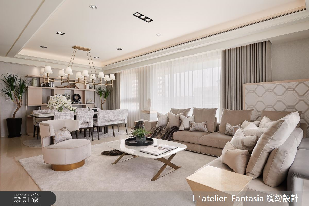 Art Deco 的极致展现!零动工、用佈置就能展现新古典豪宅风範!