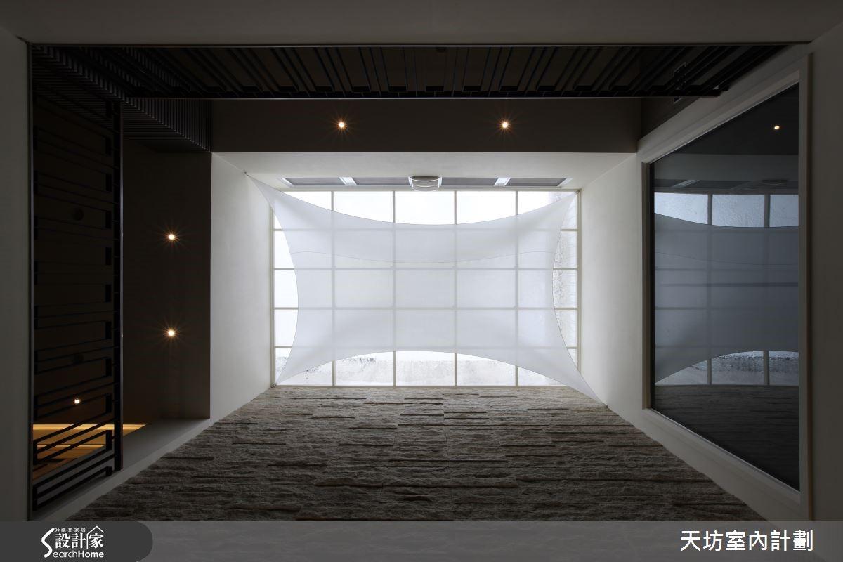 光影变幻搭材质特性,打造新东方疗愈宅