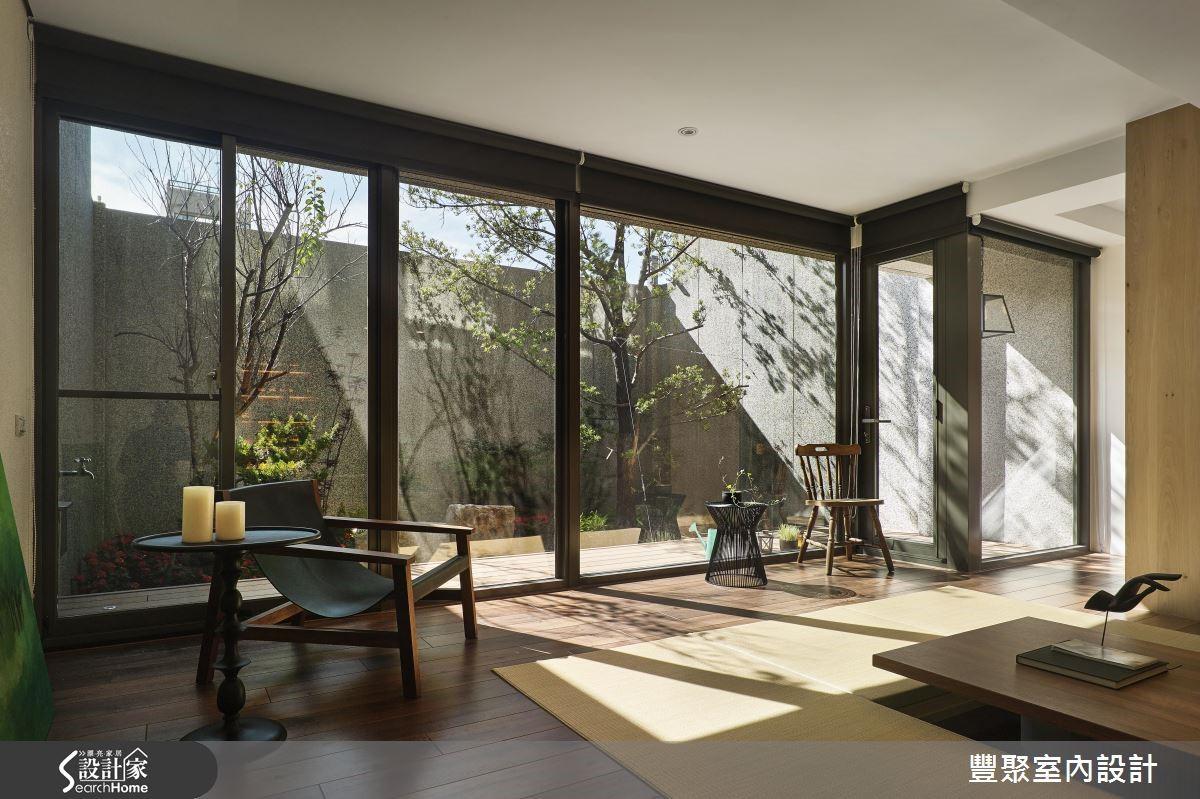 来我家品日光、嚐绿意! 149 平米超自然好客宅!