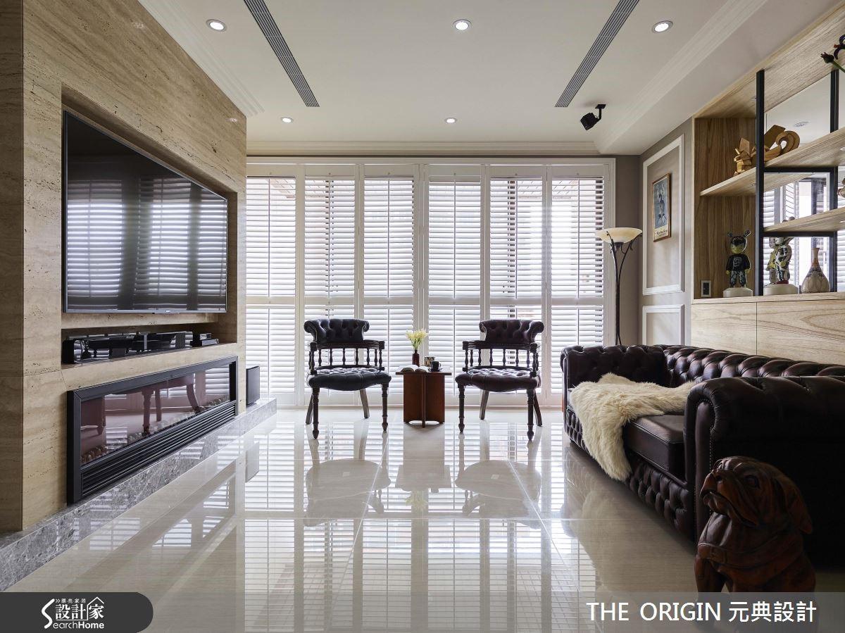 明亮光感绽放,132平的美式退休宅