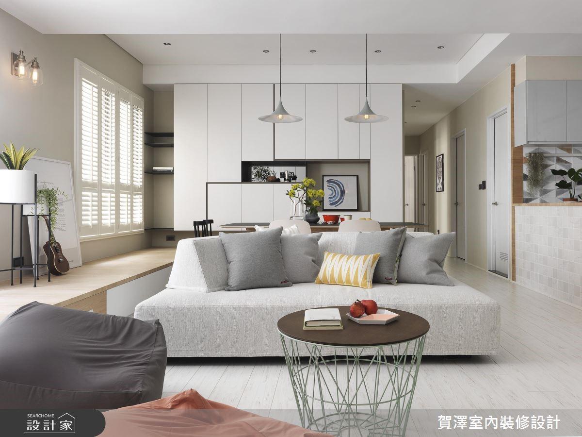 清新纯白与木质色,值得珍藏的北欧风新家