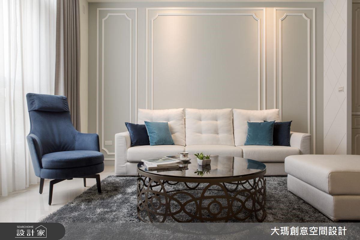 优雅贵族风,坐拥152平的新古典别墅